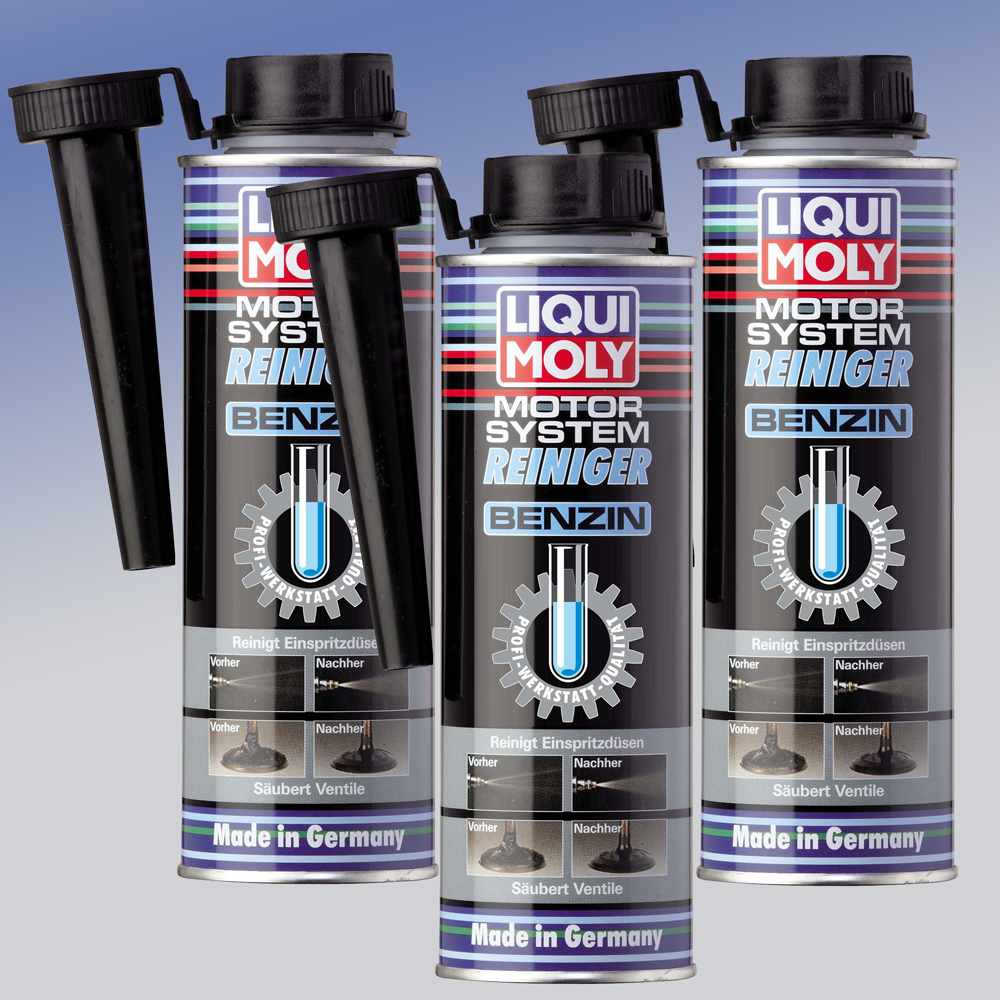 liqui moly motor system reiniger benzin 3 x 300 ml ebay. Black Bedroom Furniture Sets. Home Design Ideas