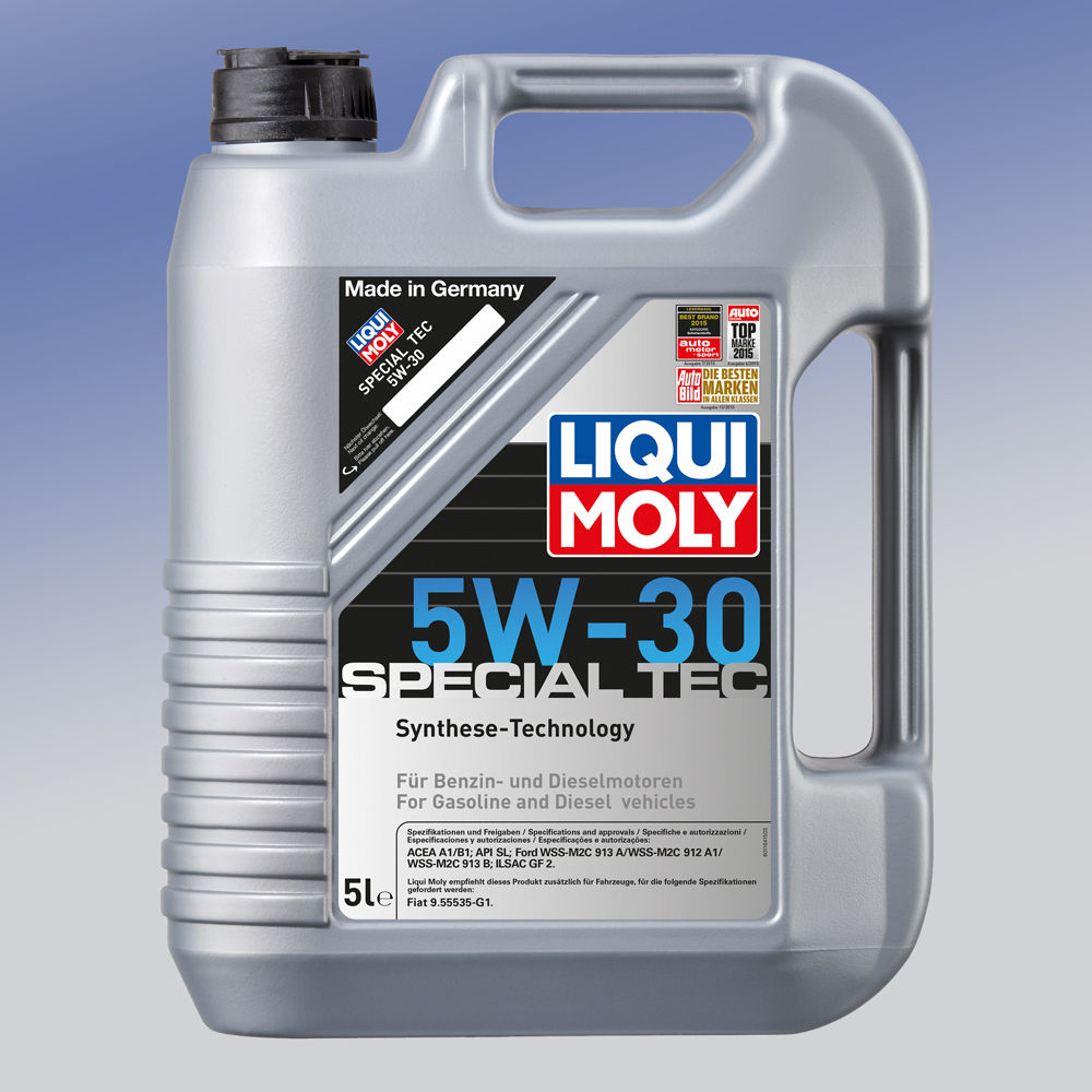 liqui moly special tec 5w 30 1 x 5 liter motor l ebay. Black Bedroom Furniture Sets. Home Design Ideas